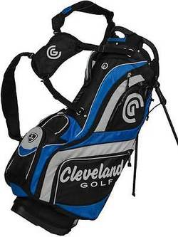 Preview fit cleveland cg 15 stand bag black blue