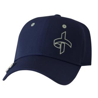 Cross Tech Golf Hat - Navy - Image 1