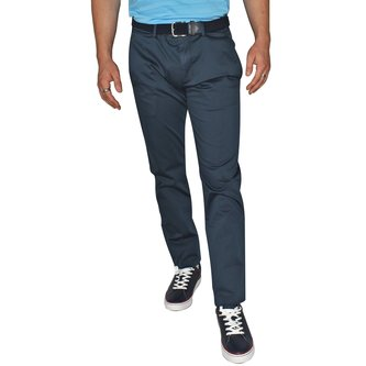 Hugo Boss Leeman 3 Regular Fit Pants - Navy - Image 1