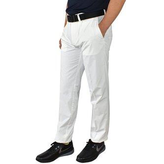 J.Lindeberg Elof Light Poly Slim Golf Pants - White - Image 1