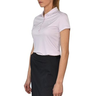 Nike Women's Victory Solid Golf Shirt - Bleached Lilac - Image 1