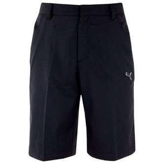 Puma Junior Tech Golf Shorts - Black - Image 1