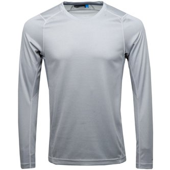 Active LS Tee Elements Jersey - Stone Grey Melange - Image 1