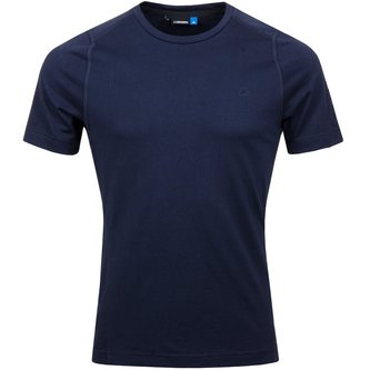 Cotton Liquid Tee - JL Navy - Image 1