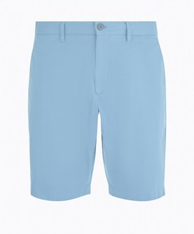 Slim Fit Cotton Chino Short - Marlin Blue - Image 1