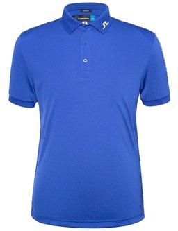 Tour Tech TX Jersey Slim Polo - Strong Blue - Image 1