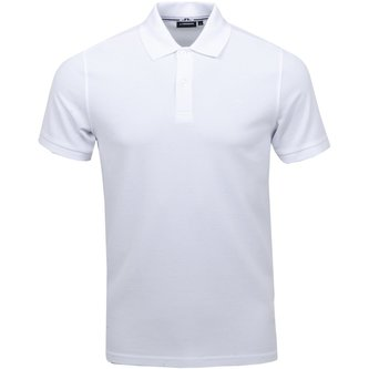 Troy Clean Pique Polo - White - Image 1