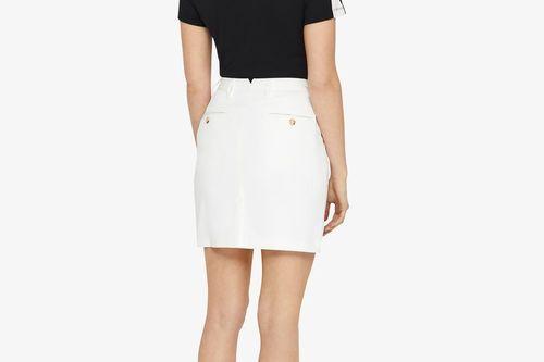 W Allie Skirt Micro Stretch Skort - White - Image 5