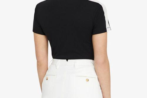 W Allie Skirt Micro Stretch Skort - White - Image 6