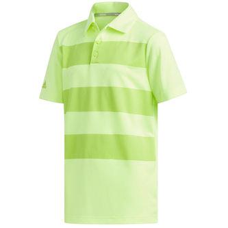 adidas Golf 3-Stripes Junior Polo Shirt - Image 1