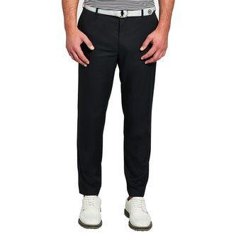 Peter Millar Durham High Drape Performance Pant - Black - Image 1