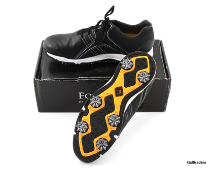 FOOTJOY ENERGIZE MENS GOLF SHOES SIZE US 10.5W 58140A SPIKED - LIKE NEW #E6456 - Image 1