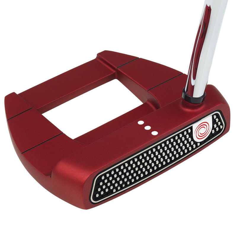 Odyssey O-Works Red Jailbird Mini SS Putter - Image 1