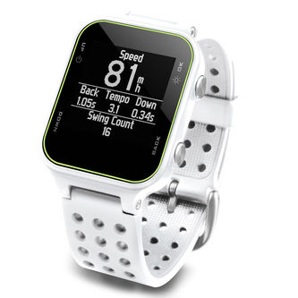 Garmin Mens White Comfortable Approach S20 Golf GPS Watch - Image 3