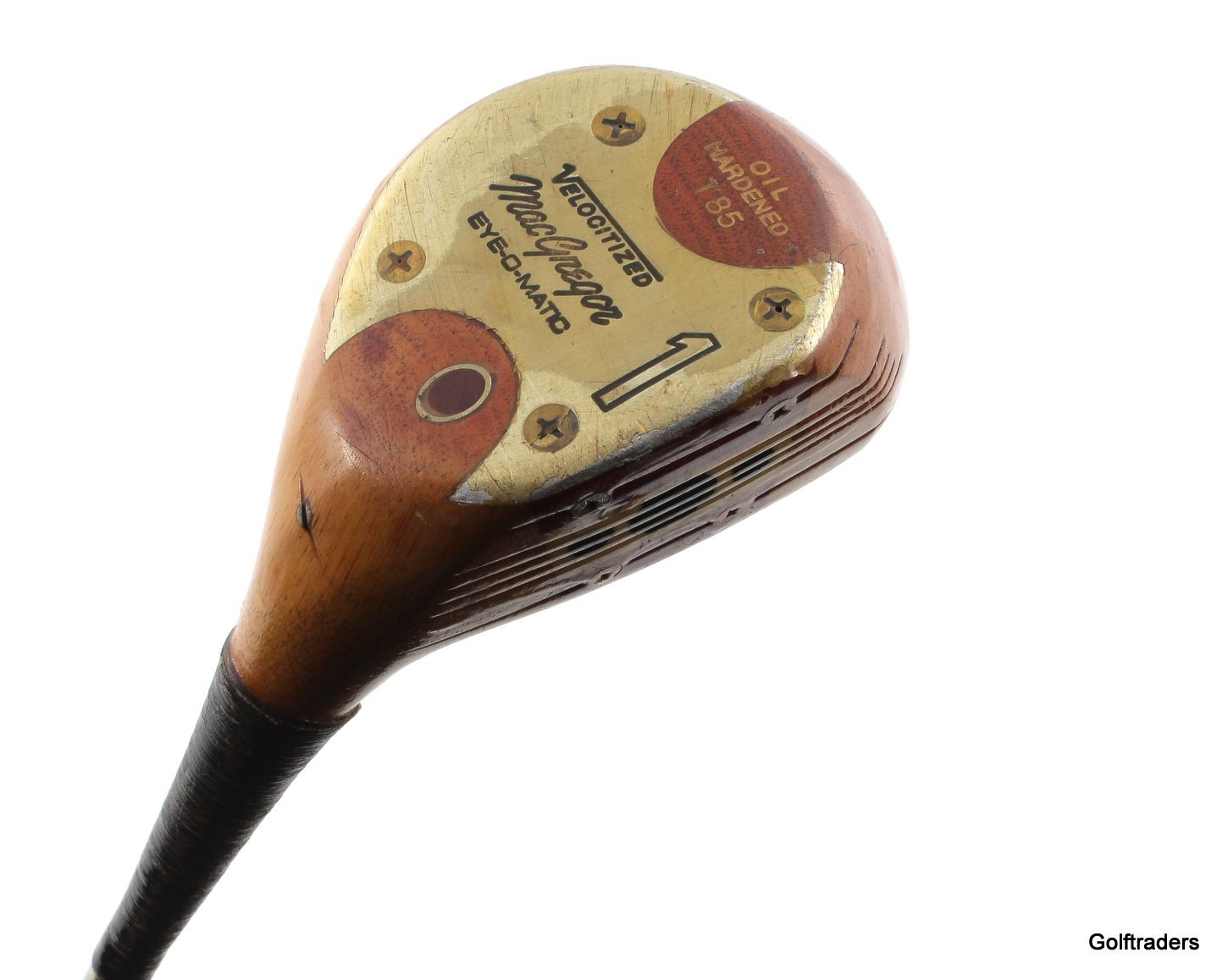 MACGREGOR EYE-O-MATIC VELOCITIZED VINTAGE DRIVER STEEL EXTRA STIFF+NEW GRIP #F6 - Image 1