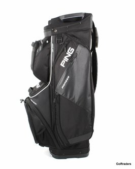 New Ping Pioneer 191 Golf Cart Bag Black G1108 - Image 1
