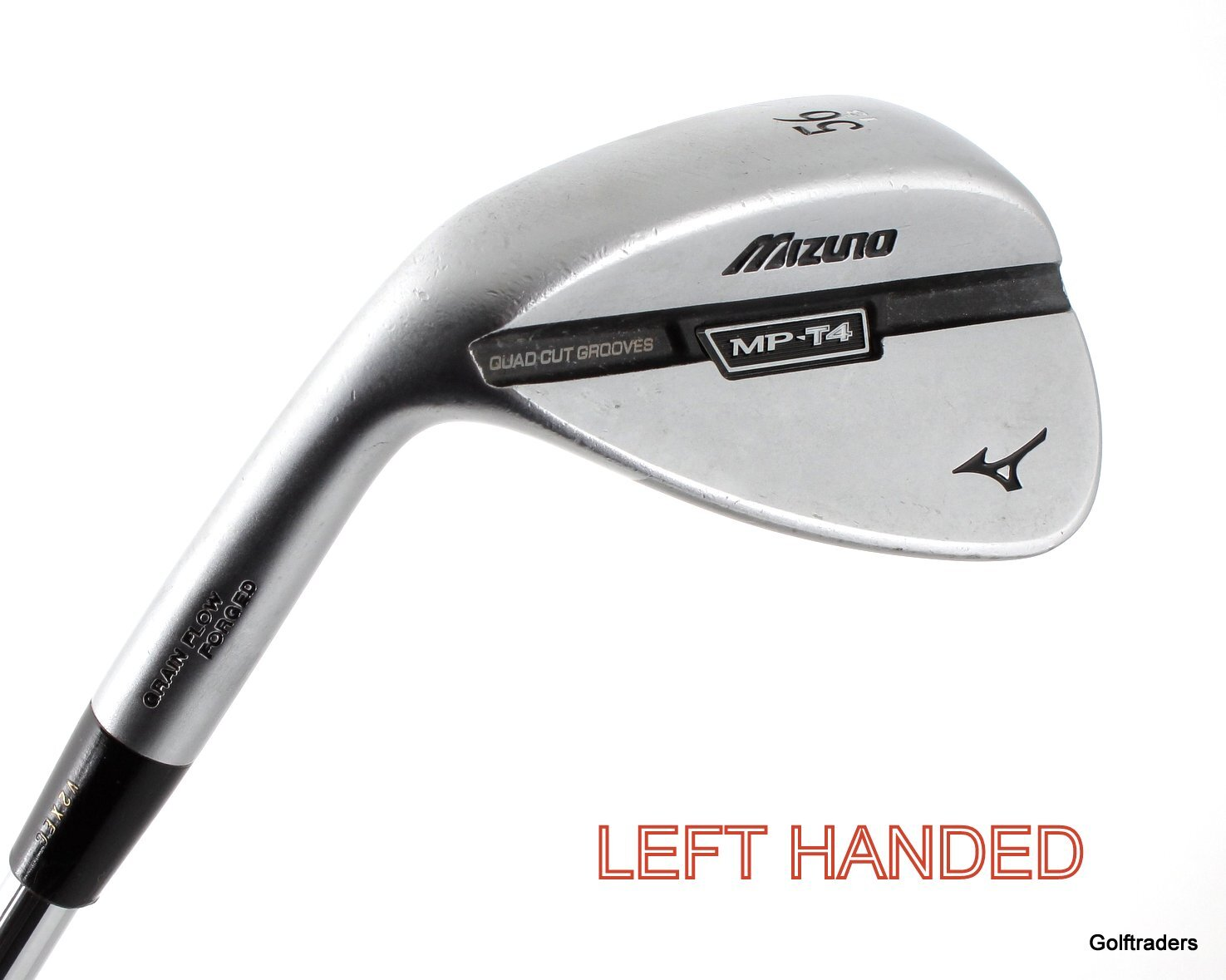 Mizuno MP-T4 Forged Sand Wedge 56.13 Steel Wedge Flex Left Handed G1137 - Image 1