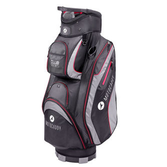 Motocaddy Black and Red Long Lasting Club-Series Golf Cart Bag - Image 1