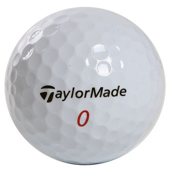 TaylorMade Mens White Distance Plus Pack of 12 Balls - Image 2