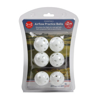 AG Essentials Airflow Golf Practice Balls - Image 1