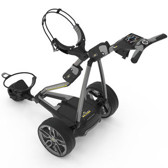 PowaKaddy Mens FW7s 2019 36 Hole Lithium Battery Golf Trolley - Image 1