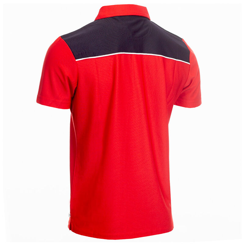 Calvin Klein Pique Colour Block Golf Polo Shirt - Image 2
