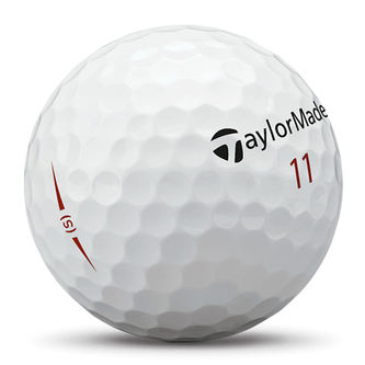 TaylorMade Mens White Project (S) 12 Ball Pack - Image 2