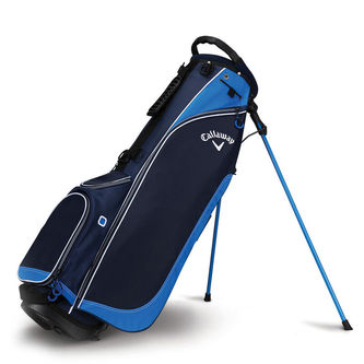 Callaway Golf Navy Blue Lightweight Hyper-Lite 2 Double Golf Stand Bag - Image 1