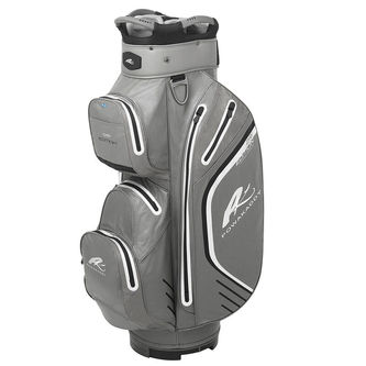 PowaKaddy Black and Silver Lightweight Dri Edition Golf Cart Bag - Image 1