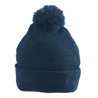 Palm Grove Cable Knit Pom Ladies Beanie - Image 1