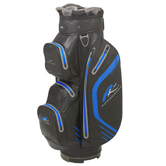 PowaKaddy Black and Blue Lightweight Dri Edition Golf Cart Bag - Image 1