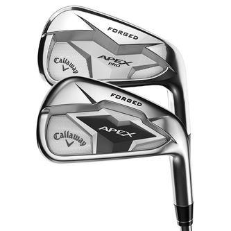 Callaway Golf Tan Brown Apex 19 Combo Steel Right Hand Stiff 4-PW 7 Irons - Image 1
