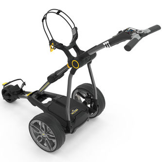 PowaKaddy Silver Compact C2i 36 Hole Battery Lithium Golf Trolley 2019 - Image 1