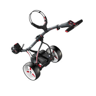 Motocaddy Mens Graphite Stylish S1 2019 Extended Range Lithium Electric Golf Trolley - Image 1