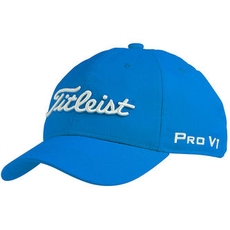 Titleist Kids Royal and White Tour Performance Junior Cap - Image 1