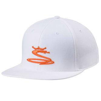 Cobra Golf Mens White Tour Snake Snapback Cap - Image 1
