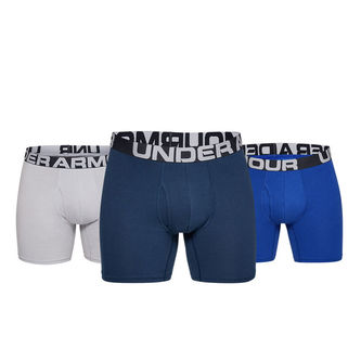 """Under Armour Charged Cotton 6"""""""" 3-Pack Boxers - Image 1"""
