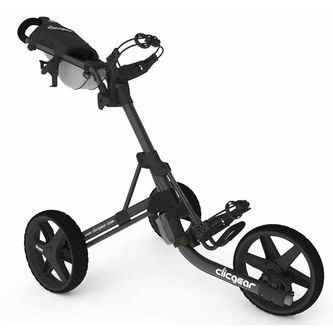 Clicgear Mens Charcoal Grey 3.5+ Golf Trolley - Image 1