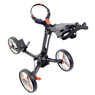 Motocaddy Mens Graphite Adjustable P1 Push Golf Trolley - Image 1