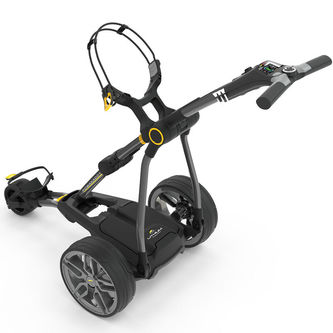 PowaKaddy Silver Compact C2i Golf GPS 18 Hole Lithium Trolley 2019 - Image 1