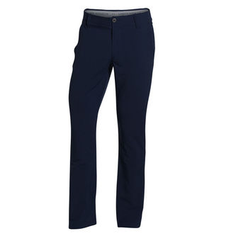 Under Armour Mens Navy Blue Matchplay Tapered Regular Golf Trousers - Image 1