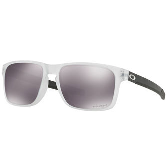 Oakley Mens Clear and Black Holbrook Mix Sunglasses - Image 1