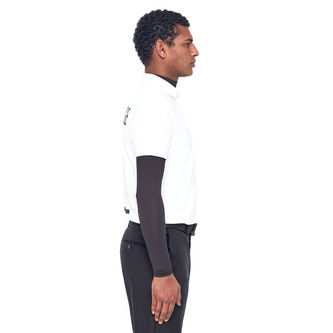 J.Lindeberg Tour Tech Print Golf Polo Shirt - Image 4