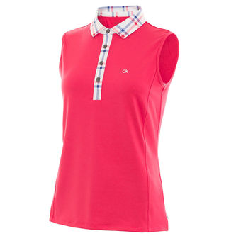 Calvin Klein Heritage Ladies Golf Polo Shirt - Image 1