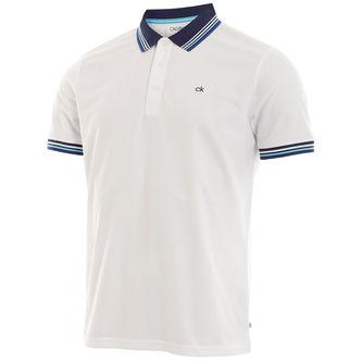 Calvin Klein Bi-Lite Golf Polo Shirt - Image 1