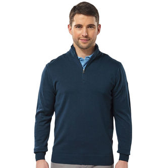 Palm Grove 1/4 Zip Golf Sweater - Image 1