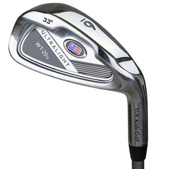 US Golf Kids Light Blue Left Hand UL 48 Irons - Image 1