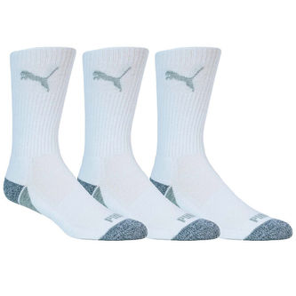 PUMA Golf Pounce 3 Pack Crew Socks - Image 1
