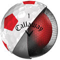 Callaway Golf White and Red Chrome Soft Truvis Pack of 12 Balls - Image 4