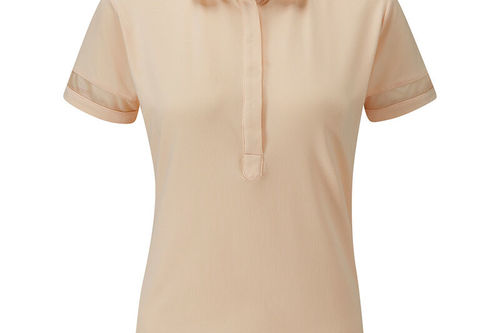 PING Mila Sheer Panel Ladies Golf Polo Shirt - Image 1